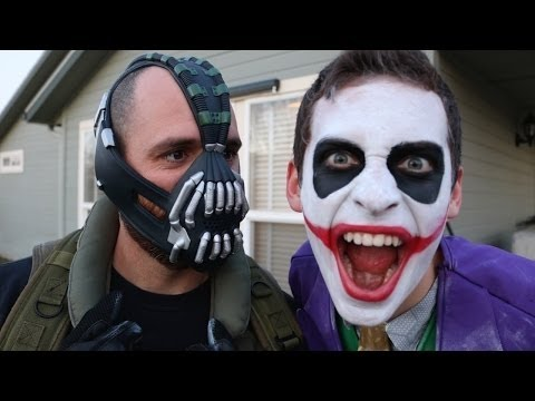 Best Bane Vs Crazy Joker In Real Life Spider Man Avengers Videos Part 51 Youtube