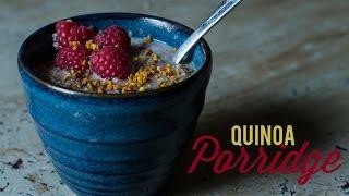 How to make Creamy Quinoa & Coconut Porridge - AN EPIC BREAKFAST RECIPE!!