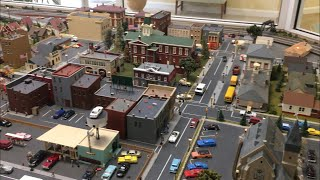 Very Detailed HO Scale Model Railroad
