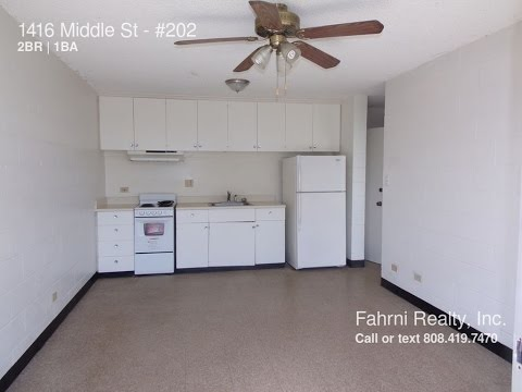 Apartment for Rent in Honolulu, HI 2BR/1BA by Property Management in Honolulu, HI