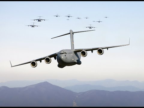 C 17 The air carriage of the US Air Force