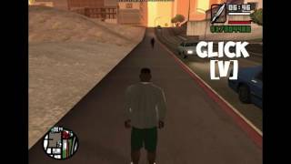 GTA SA How To Download First Person Mod For Gta San Andreas