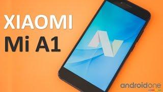 Xiaomi Mi A1 Global распаковка (Unboxing Mi A1 64GB) внешний вид, включаем Android One