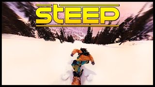 200 MPH SNOWBOARDING Down Mount Denali In Alaska - Steep Gameplay