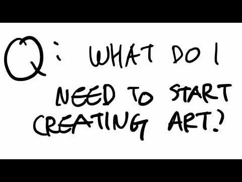 Digital Art Basics - What You Need