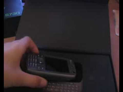 htc S730 Unboxing