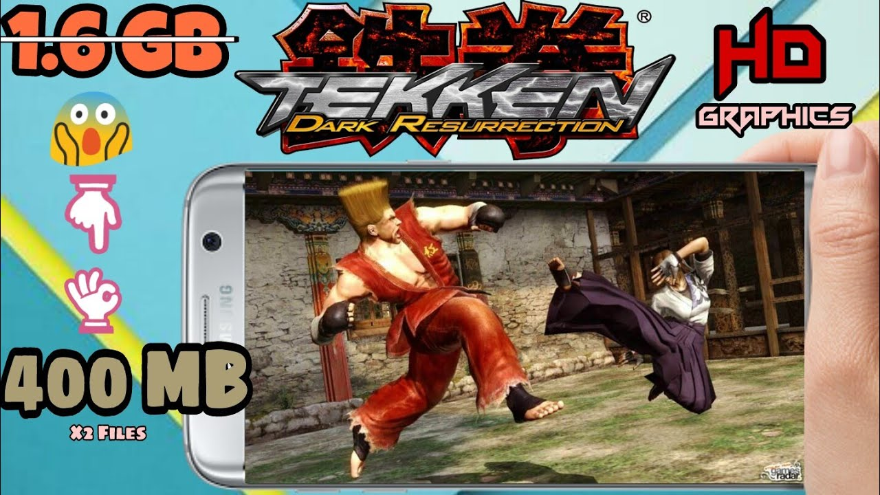 Tekken 5 Dark Resurrection Highly Compressed 400 Mb With