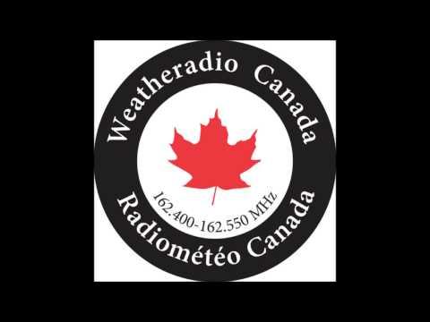 Weatheradio Canada - Severe Thunderstorm Warning (EAS #80) 18/04/2013
