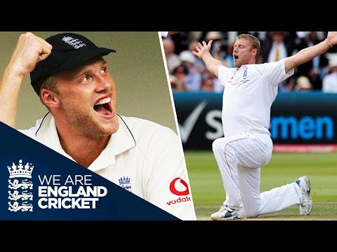 Freddie At His Best: Flintoff's Greatest Ashes Moments As They Happened