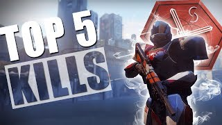 DESTINY 2| TOP 5 KILLS | German #1