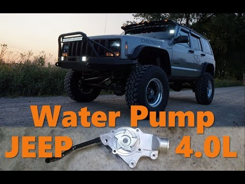 How To Replace a Jeep Cherokee Water Pump