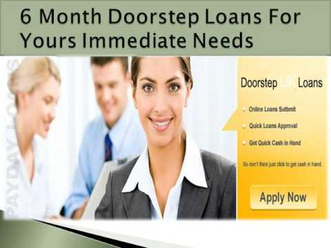 Doorstep Loans - Same  Day Perfect Solution For Difficult Situations