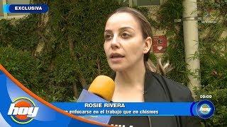 Rosie Rivera, ¿en problemas con la producción de 'Mira Quién Baila'? | Hoy