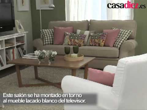Decorar la pared del sal n youtube - Como decorar las paredes de un salon ...