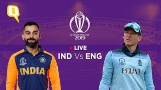 India vs England ICC World Cup 2019 Live | Virat Kohli vs Eoin Morgan