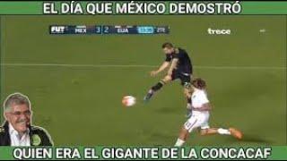 El Día que México Demostró quien era el Gigante de la Concacaf