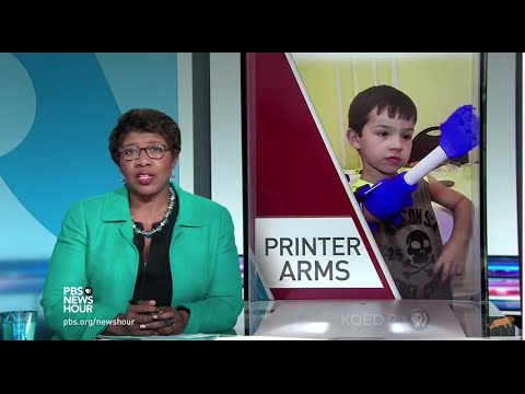 RIT on TV: RIT's eNABLE project featured on PBS Newshour