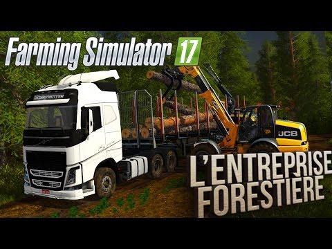 Farming Simulator 17 | L'Entreprise Forestière | Episode 5 | Camion de bois !