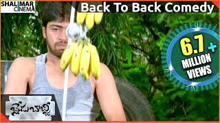 Blade Babji Telugu  Movie ||  Back To Back Comedy Scenes-03 || Allari Naresh ,Sayali Bhagat
