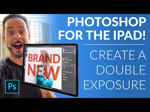 The NEW Photoshop For IPad | Create A Double Exposure