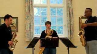 Saxophone Trio Music – Ballade à trois (from Two Miniatures)
