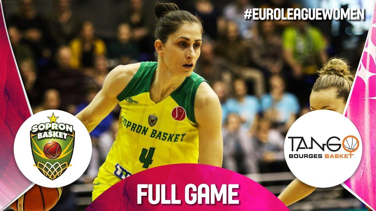 Re-watch Sopron Basket v Bourges Basket