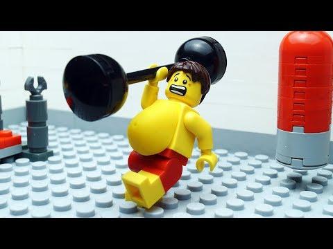 Lego Gym Fail - Beach Body Building