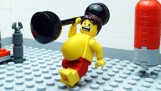 Lego Gym Fail Beach Body Building
