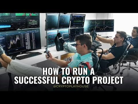 How to Run a Succesful Crypto Project