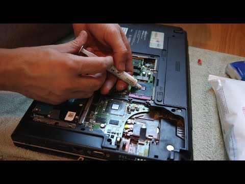 Laptop Temizleme Nasıl Yapılır? Fan temizleme ve Termal Macun değişimi