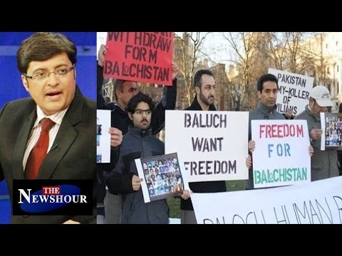 Balochistan Seeks Azadi From Pakistan : The Newshour Debate (1st April 2016)