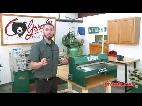"""Grizzly's G0828 25"""" Benchtop Metal Shear"""