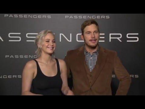 Jennifer Lawrence & Chris Pratt Passengers CinemaCon