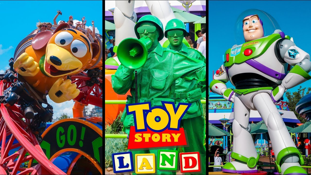 Top 10 New Toy Story Land Rides Attractions Disney World Youtube