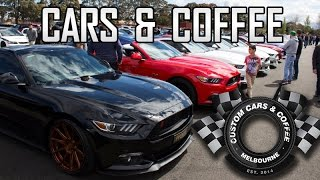 Ferrari's and Mclaren's @ Custom Cars & Coffee 2016 - Sandown Raceway