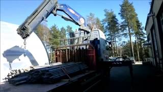 New mill - Homecoming! -Heavy machine moving-
