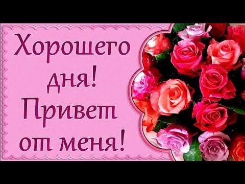 Хочу пожелать чудесного дня!