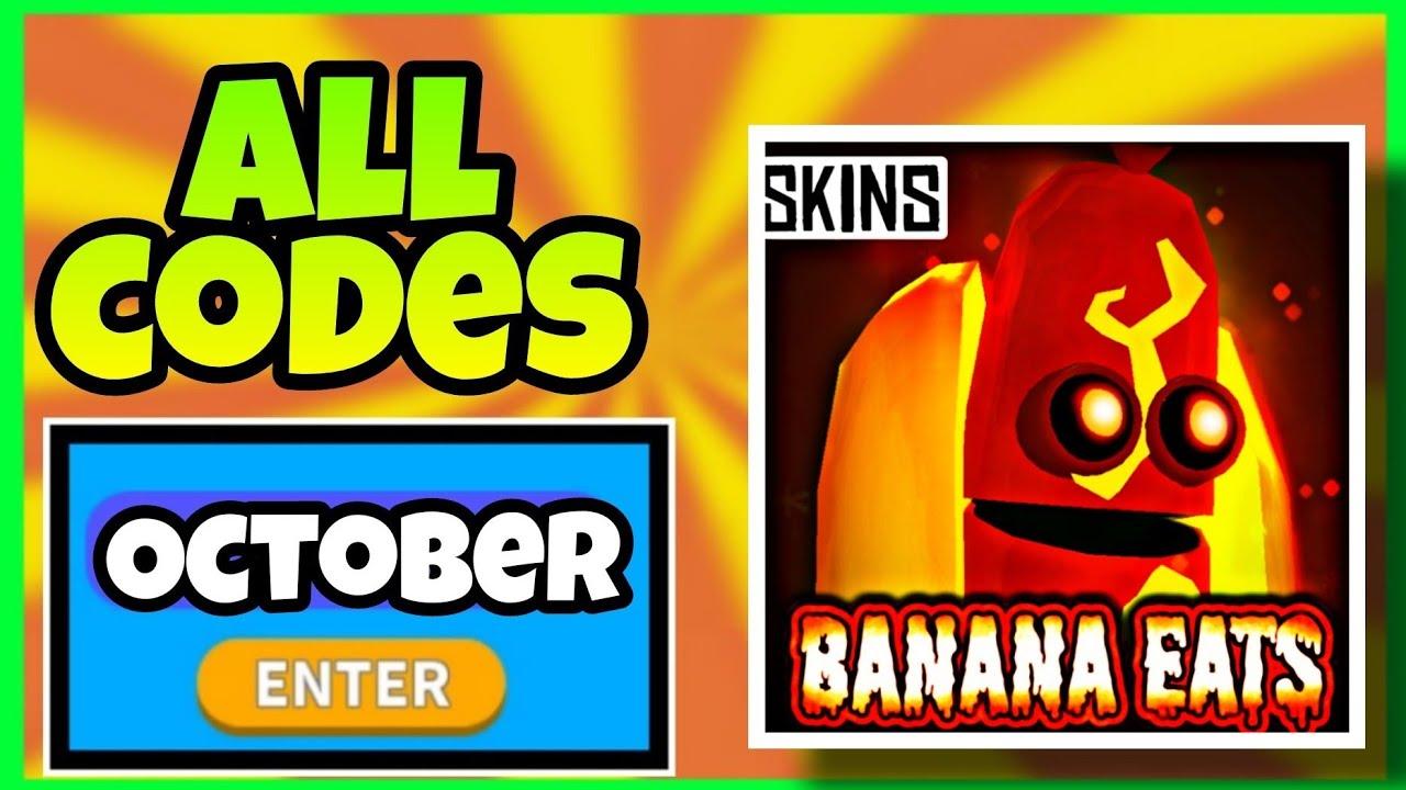 *OCTOBER 2021* ALL WORKING CODES BANANA EATS ROBLOX   BANANA EATS CODES ROBLOX