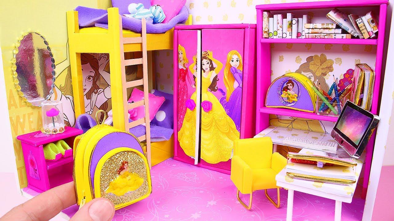 Download 7 DIY Miniature Dollhouses ~ Cinderella, Rapunzel, Aurora, and more