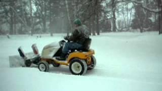 Snowblower,  Redneck R&D at it's finest!!!!