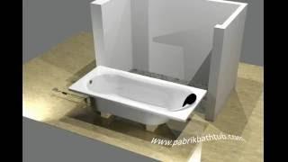 pemasangan bathtub avur