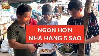 Khương Dừa ăn tôm hùm, ghẹ,... chợ trời cực ngon, nhà hàng 5 sao không có cửa!!!