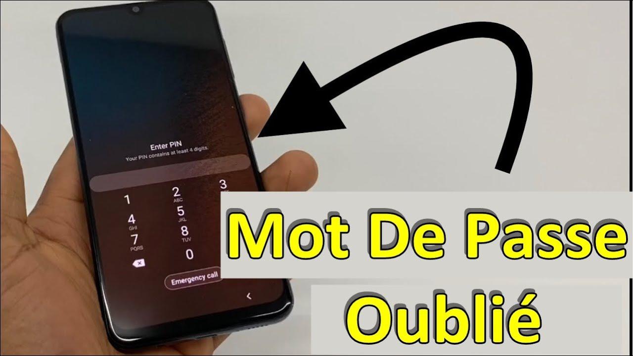Mot De Passe Ou Schéma Verrouillage Android Oublié, Que Faire