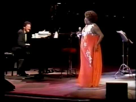 Sarah Vaughan in concert Barcelona 1985 part 1  My funny Valentine