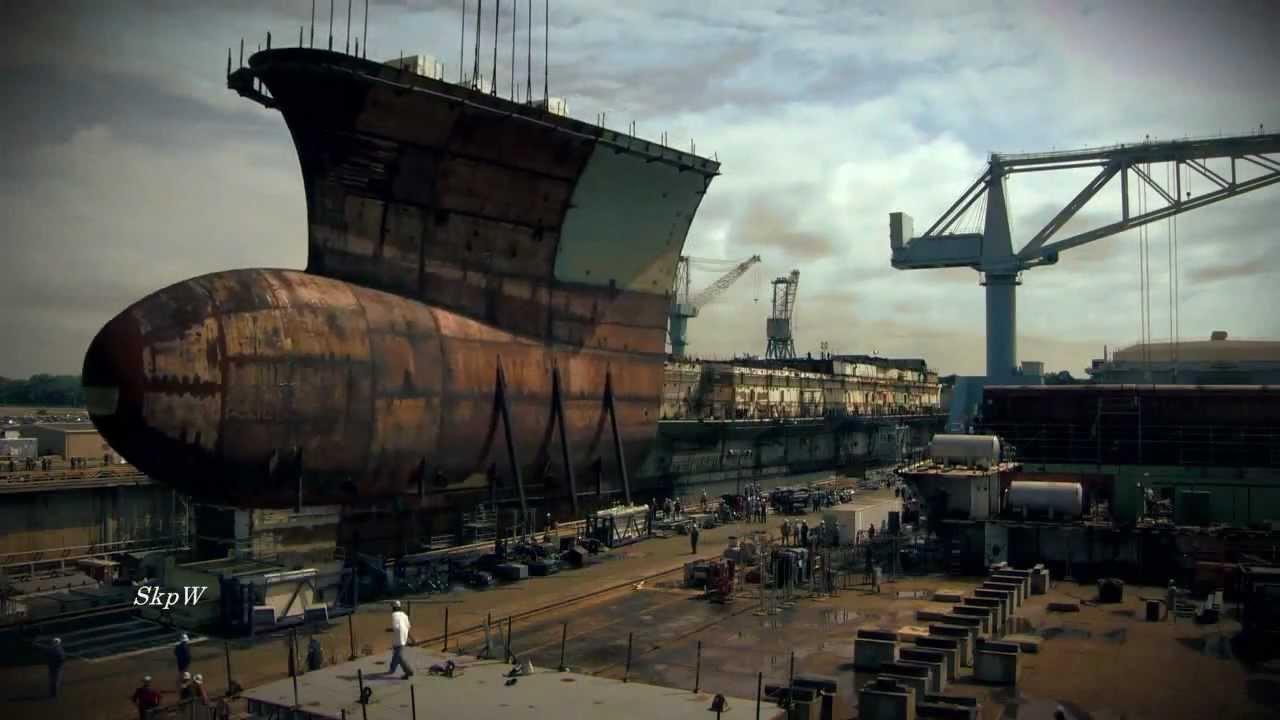 Building World S Biggest Super Carrier 2013 ★ Youtube