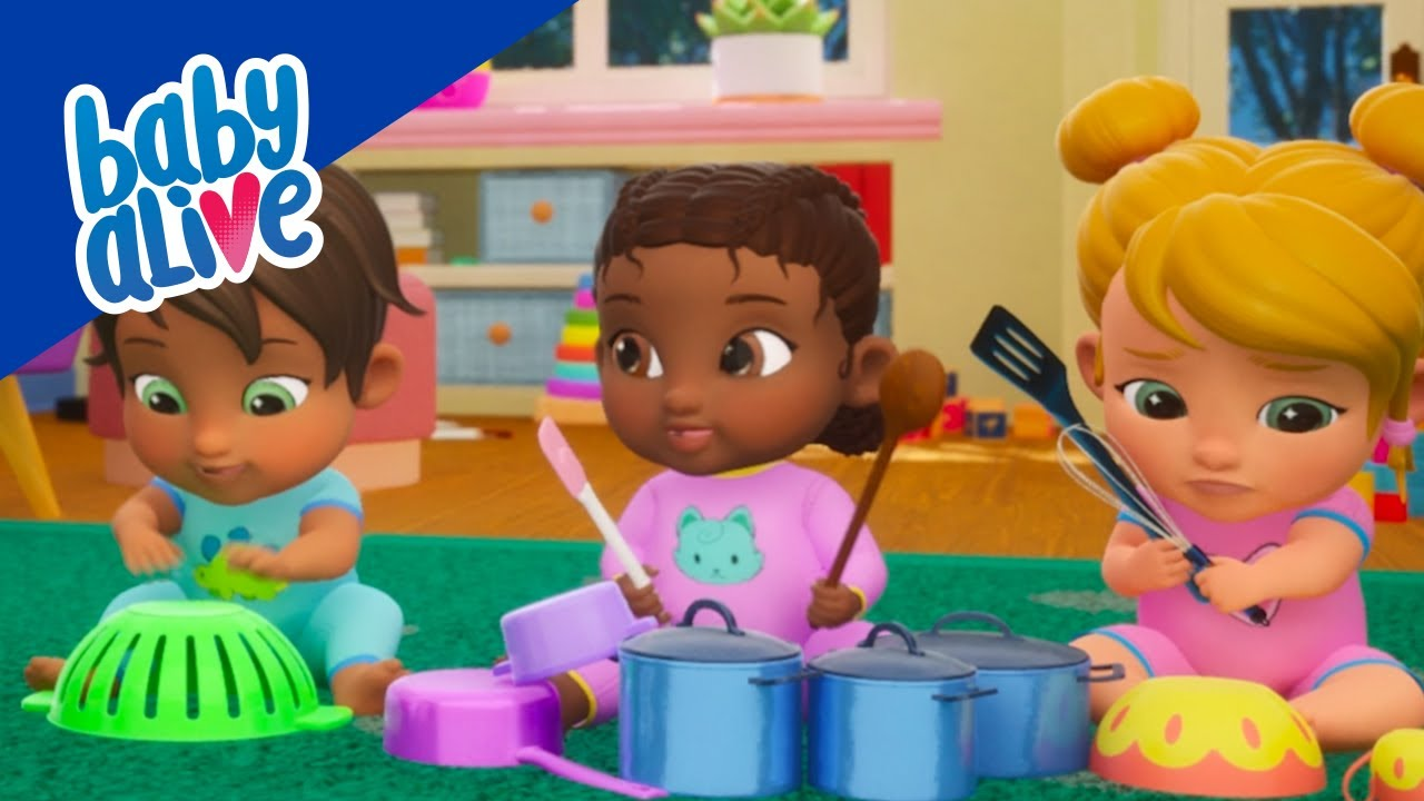 👶🏻 Baby Alive 👶🏾️🌈 Babies Playing Music 👶🏼💧 BRAND NEW SHOW 👶🏾 Kids Videos and Baby Cartoons 💕