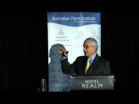 Professor Kym Anderson - Future Trade Opportunities for Australian Agriculture Conference
