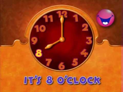 magic english - tick tock time part I - YouTube