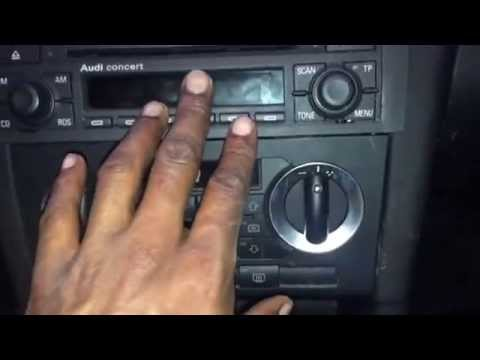 Connects2 Aux Adaptor Audi A3 Concert 2 ISO Installation YouTube