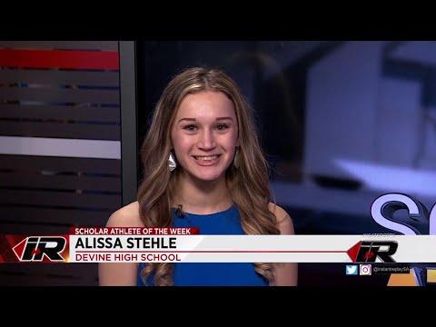 Scholar Athlete: Alissa Stehle, Devine High School